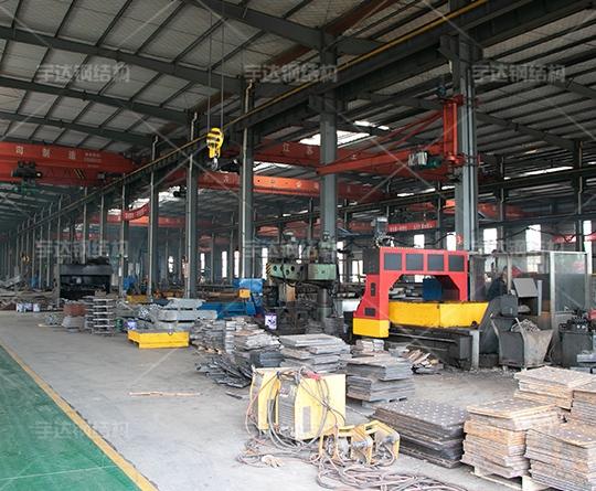 大型钢结构加工厂